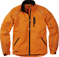 Madison Protec kid's waterproof jacket, vibe orange Age 4 - 6 Only