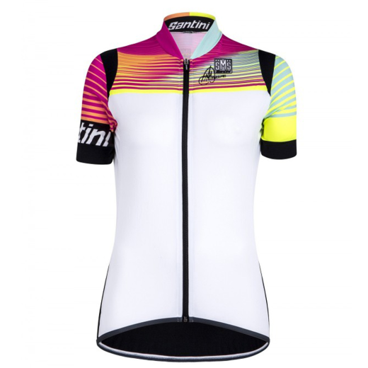 Santini Anna 2 Womens Short Sleeve Jersey - White