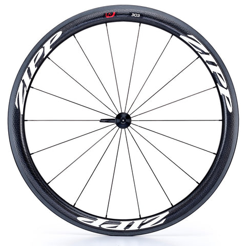 ZIPP 303 Firecrest Tubular 77 Front 18 spokes (White Decal