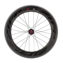 Zipp 808 Firecrest Tubular Rear Wheel 24 spokes 10/11 Speed SRAM/Shimano Cassette Body Black Decal