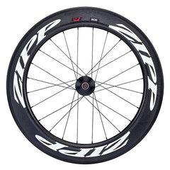 ZIPP 808 Firecrest Tubular Track 333 Rear 24 spokes (White Decal)