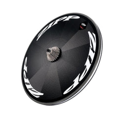 Zipp Super-9 Disc Rear Wheel Tubular Track White Decal