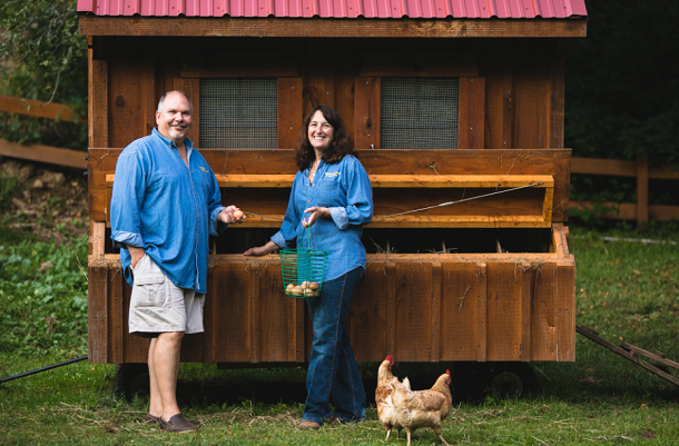 "Pasture-raised eggs help fuel industry ""renaissance,"" Handsome Brook Farm co-founder says"