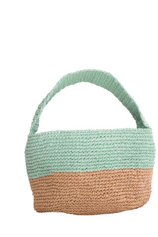 TURQUOISE RICE BAG