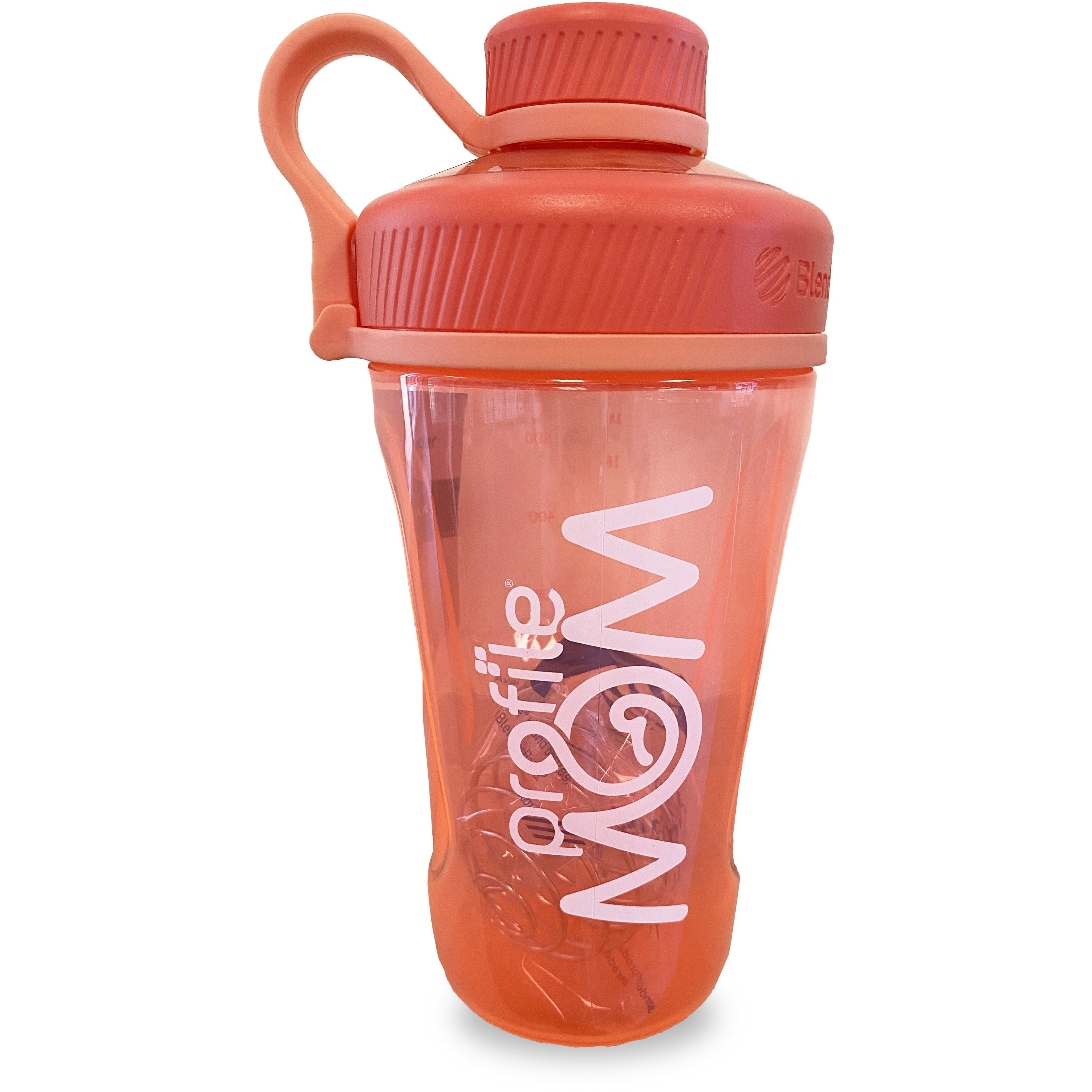Blender Bottle - MOM Coral - 24oz