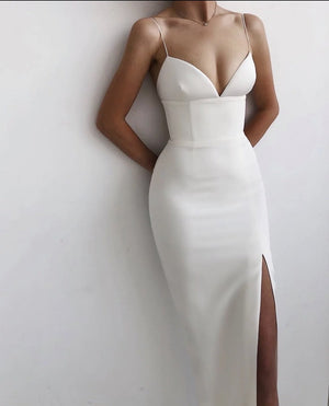Long Evening Party Bandage Dress in Montreal Canada