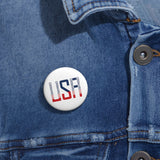 USA: Pin Button CORONAVIRUSUX in the USA