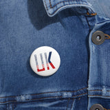 USA: Pin Button CORONAVIRUSUX in the UK