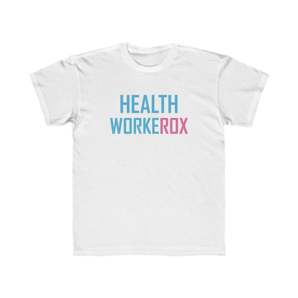 USA: Kids Regular Fit Tee HEALTH WORKEROX