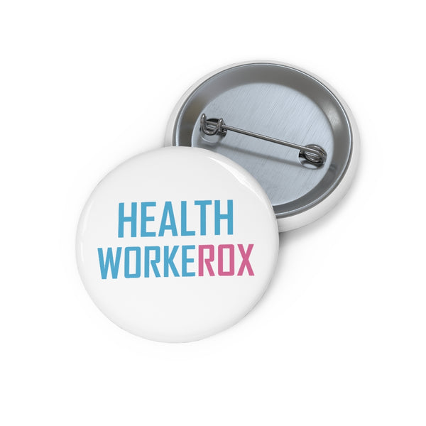 USA: Pin Button HEALTH WORKEROX