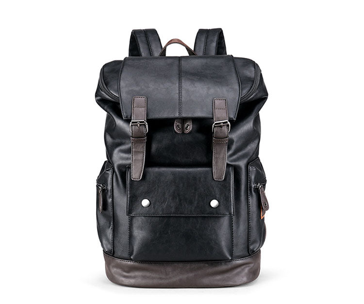 Lennon Leather Backpack - Larry Treat