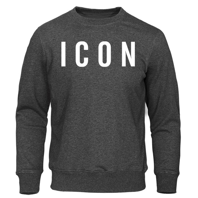 Icon Print Hoodies - Larry Treat
