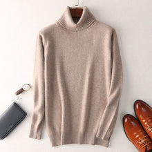 Load image into Gallery viewer, Turtleneck Cashmere Sweater - Larry Treat