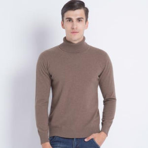 Turtleneck Cashmere Sweater - Larry Treat