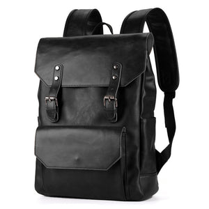 Vintage Leather Backpack - Larry Treat