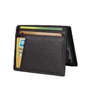 Sheepskin Leather Wallet - Larry Treat