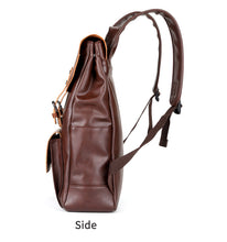 Load image into Gallery viewer, Vintage Leather Backpack - Larry Treat