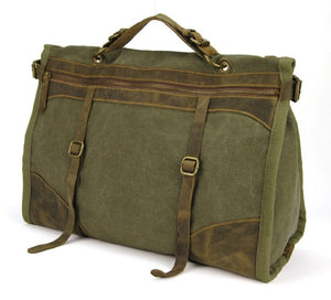 Vintage Retro military Canvas Bags - Larry Treat