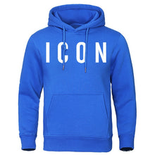 Load image into Gallery viewer, Icon Print Sweatshirt with a Hood - Larry Treat