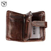 Load image into Gallery viewer, Buckle Leather Wallet - Larry Treat