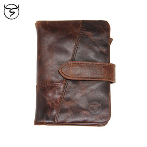 Buckle Leather Wallet - Larry Treat