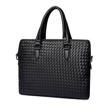 Load image into Gallery viewer, Woven Briefcase Bag - Larry Treat