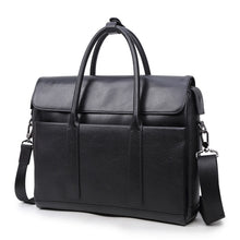 Load image into Gallery viewer, Business Leather Briefcase - Larry Treat