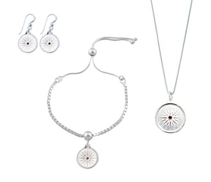 Kutles Necklace, Bracelet and Earring Set