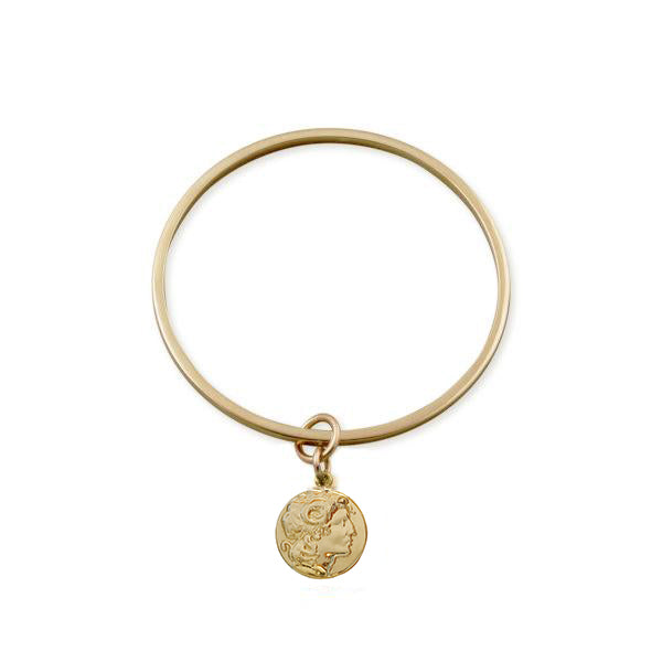 Ramna Bangle with Aleks Charm