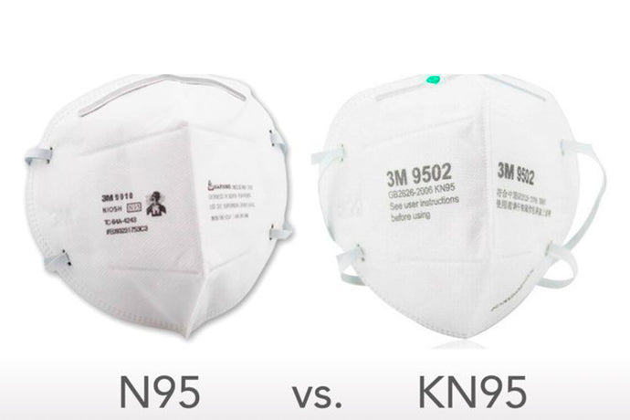 KN95 vs N95.  What's the Difference?