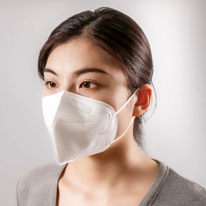 KN95 White Cube Face Mask