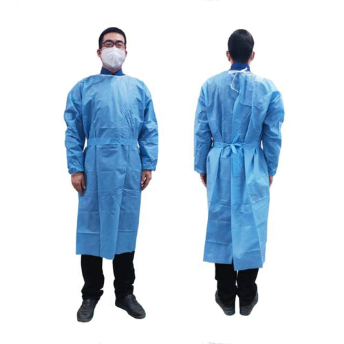 Disposable Isolation Gown Protective Clothing FrontlinePPE S