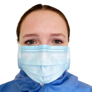 KN90 Face Mask Disposable Mask FrontlinePPE BLUE