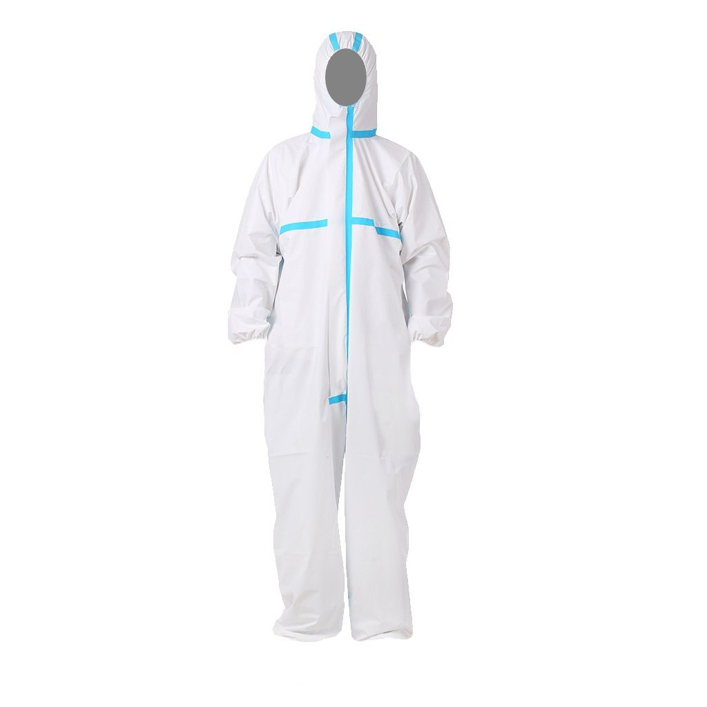 Protective Isolation Suit Protective Clothing FrontlinePPE S