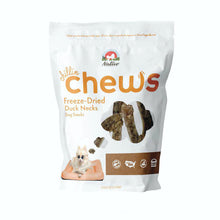 Load image into Gallery viewer, Nativo Naturals Chillin Chews Duck Necks 4pcs Freeze-Dried Dog Treats - Ethically Sourced, Made in USA - Grain & Gluten Free