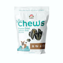 Load image into Gallery viewer, Nativo Naturals Chillin Chews Salmon Skin 6 pcs Freeze-Dried Dog Treats - Ethically Sourced, Made in USA - Grain & Gluten Free