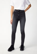 Lade das Bild in den Galerie-Viewer, Ingaa High Waist Skinny grey washed