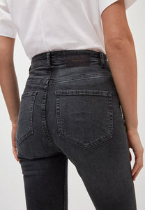 Ingaa High Waist Skinny grey washed