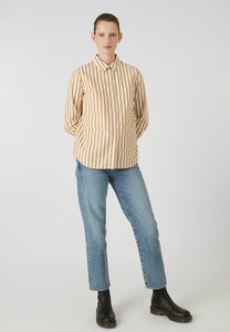Onervaa Stripe caramel butter off-white