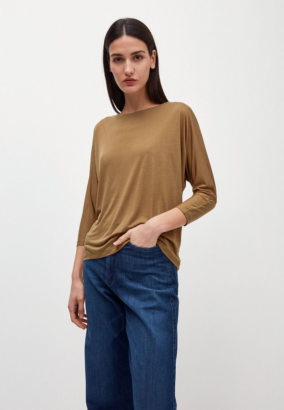 Jaady Tencel golden khaki