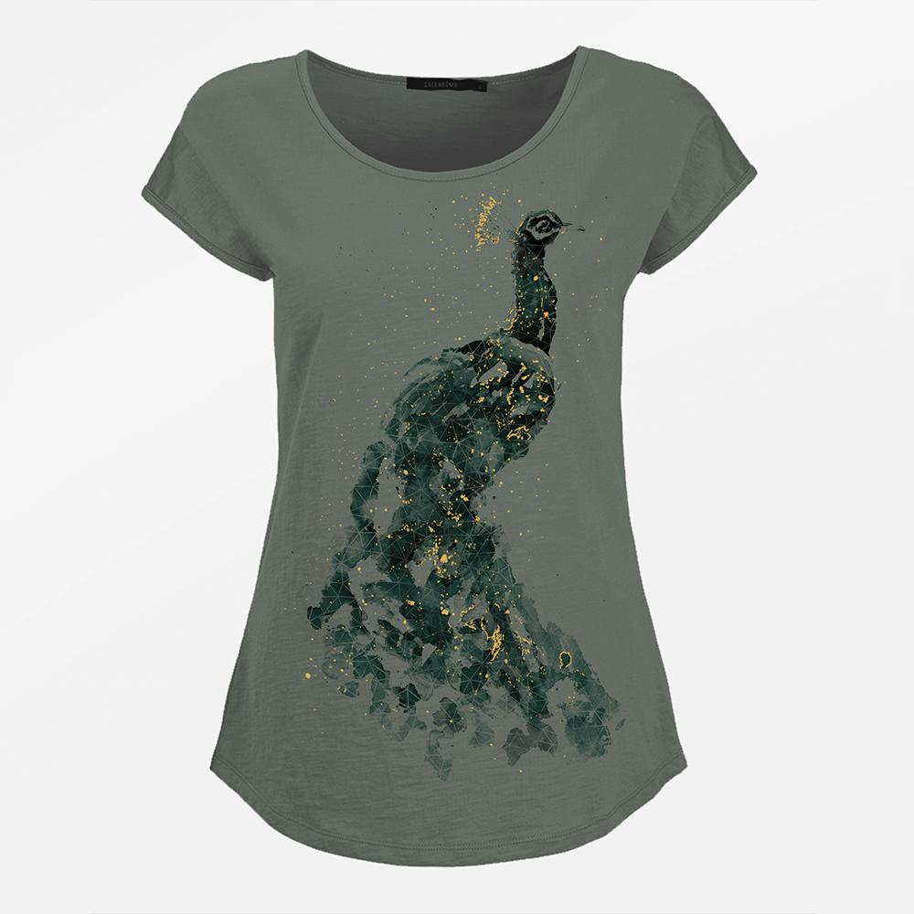 Animal Peafowl Cool Olive