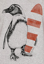 Lade das Bild in den Galerie-Viewer, Animal Penguin Surfer Guide Heather Grey