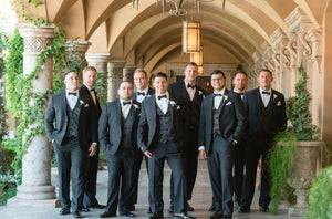 Groomsmen in Tuxedoes
