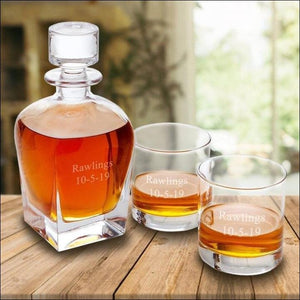 Whiskey Decanter -2 Lines
