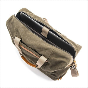 Weekender Carry On Bag Top View