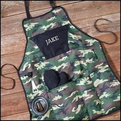 BBQ Grilling Apron-Camouflage