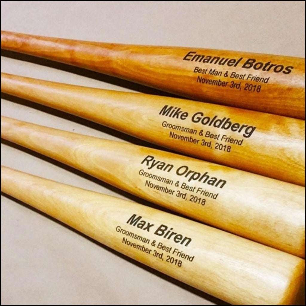 Custom Engraved Baseball Bat