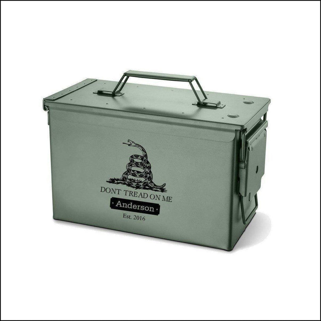 Military Hunting Ammo Box Dont Tread
