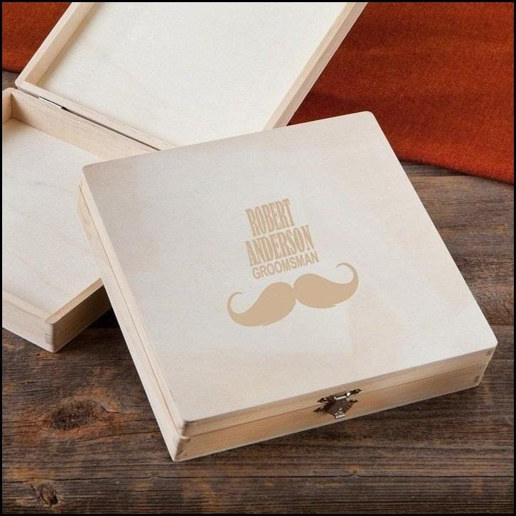 Cigar Keepsake Box-Groomsman