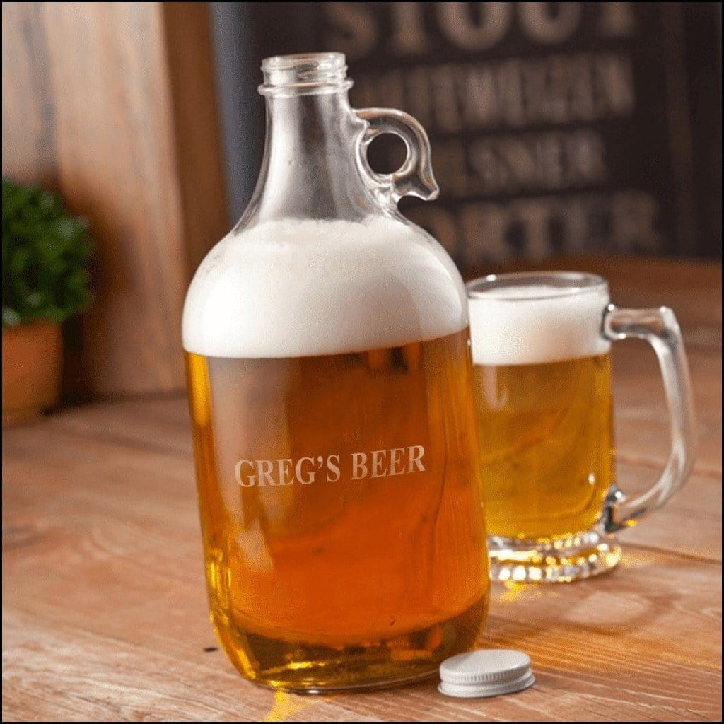 Glass Beer Growler